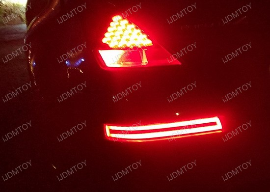 Nissan 350Z Rear Turn Signal Backup Lamp 77 nissan 350z led turn signal lights brake backup reverse lamps diy 350z tail light wiring diagram at webbmarketing.co