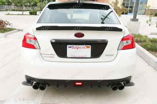 Subaru WRX Clear Lens LED Rear Fog Lights