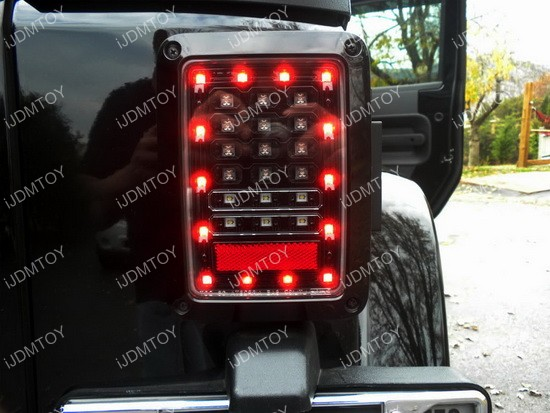 Jeep Wrangler LED Tail Lamps