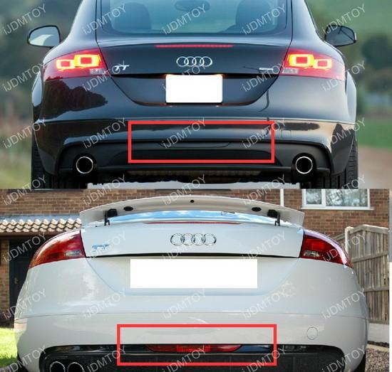 Euro Style 3 In 1 Audi Tt Rear Fog Light Backup Light