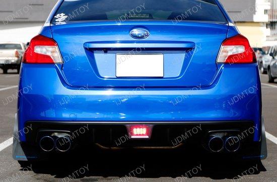 Subaru WRX Clear Lens LED Rear Fog Lights