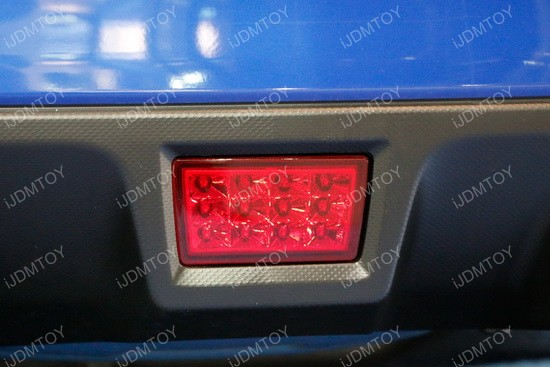 Subaru F1 Style Rear Fog Lights Subaru Wrx Jdm Led Rear