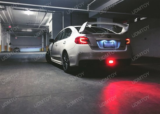 Elegant Subaru WRX Clear Lens LED Rear Fog Lights Idea