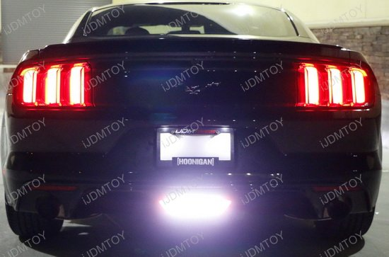 2015 up ford mustang rear fog light powered by osram led lights. Black Bedroom Furniture Sets. Home Design Ideas