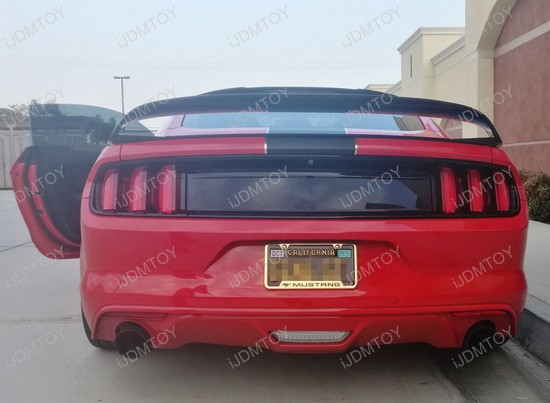 2015-up Ford Mustang Rear Fog Light, Powered by Osram LED Lights