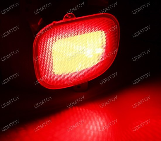 Led Lights Jeep Renegade: 2015-up Jeep Renegade LED Rear Fog Light Kit With Red LED