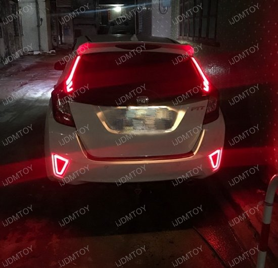 Honda FIT Rear Bumper Reflector