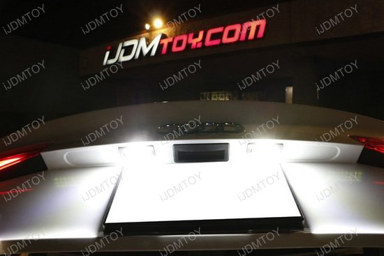 Audi Error Free LED License Plate Light