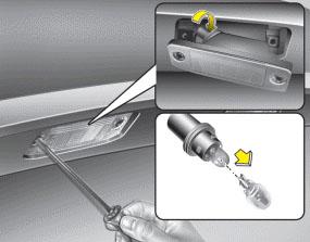 Hyundai Sonata Exact Fit LED License Plate Lamps