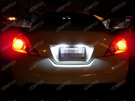 Nissan Altima Infiniti Jx35 Qx60 Led License Plate Light Lamps