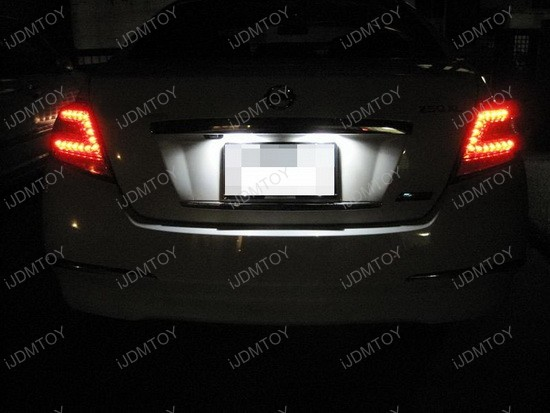 License plate light for nissan frontier