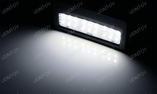 oem replacement bmw vanity mirror led lamps