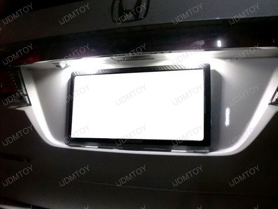 Honda OEM Fit LED License Plate Lights