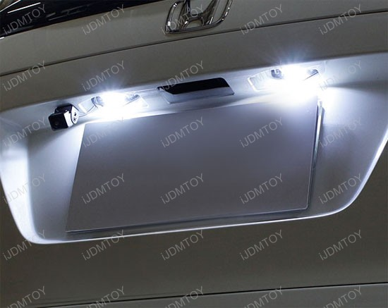 Honda Civic Cr V Insight Odyssey Crosstour Led License Plate Lights