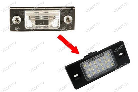 Porsche Volkswagen LED License Plate Lights