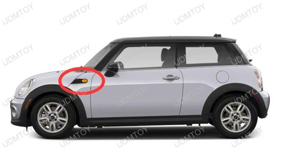 MINI Cooper R50 R52 R53 LED Side Marker Lights