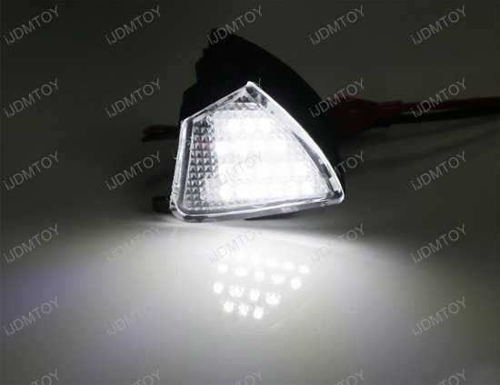18 Led Under Side Mirror Puddle Lights For Volkswagen Gti