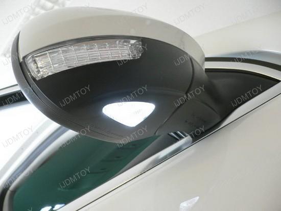 18 Led Under Side Mirror Puddle Lights For Volkswagen Gti Golf
