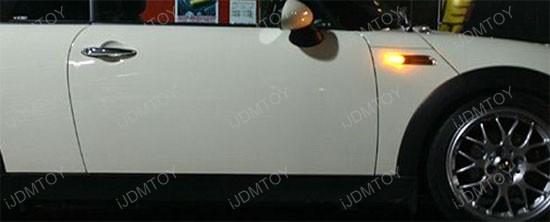 MINI Cooper R56 LED Side Marker Lights