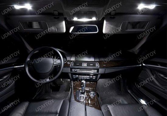 Volkswagen Golf GTi EOS Jetta Passat LED Vanity Mirror Lights