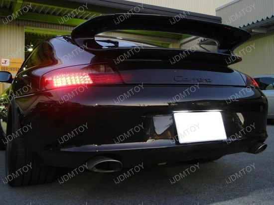 Porsche OEM License Plate Light