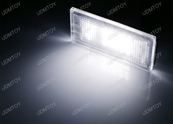 MINI Cooper R50 R52 R53 Exact Fit LED License Plate Lamps