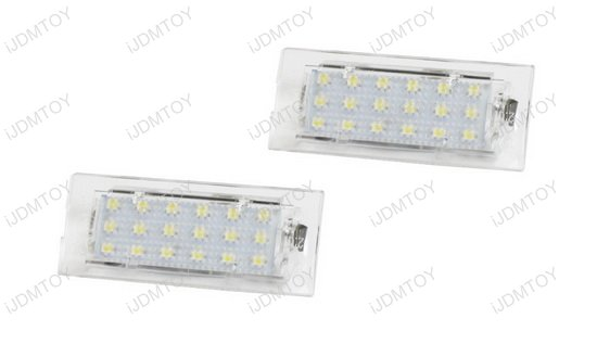 BMW E53 E83 LED License Plate Lamps