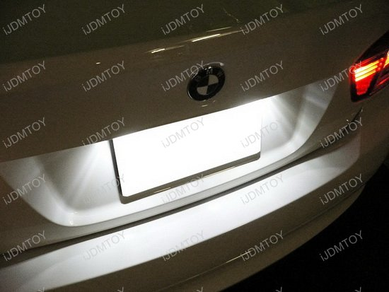 Bmw E X Led License Plate on Bmw X3 Light Bulbs