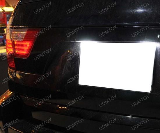 BMW E53 E83 LED License Plate Lamps