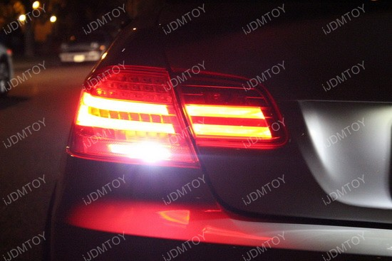 BMW E92 3 Series Audi A7 S7 RS7 LED Backup Reverse Light Bulbs