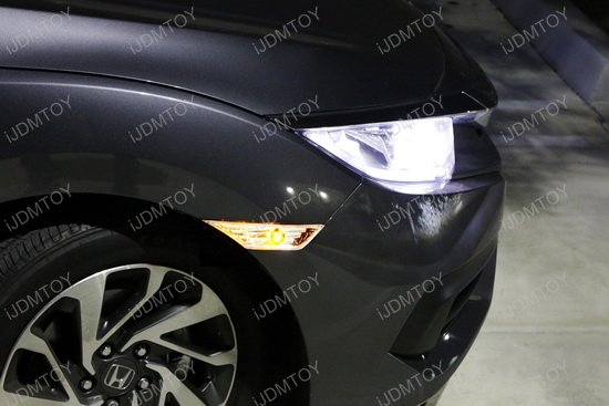 Honda Civic Clear Lens LED Side Marker