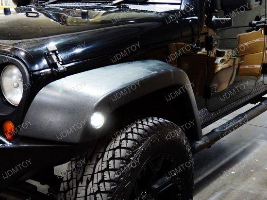 Jeep Wrangler LED Side Marker