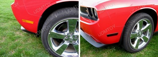 Dodge Challenger Front LED Side Marker