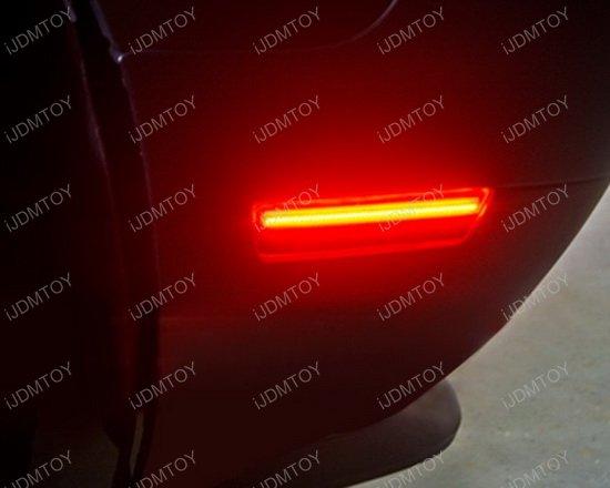 Dodge Challenger Charger Rear Red Led Side Marker Lamps