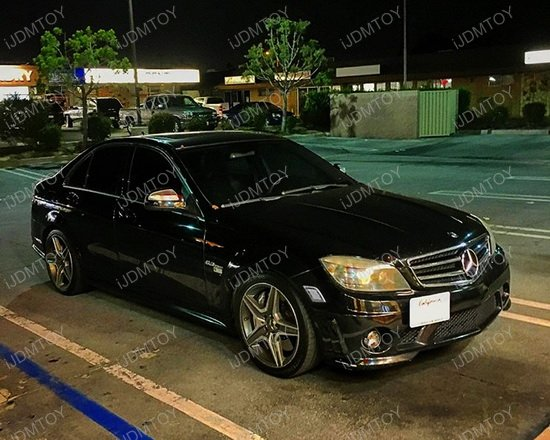 Mercedes W204 LED Side Marker