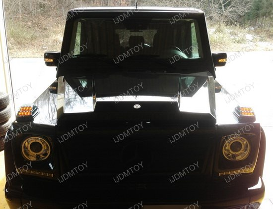 Mercedes G-Class LED Turn Signal
