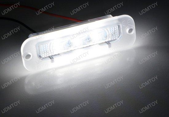 Mercedes G-Class LED License Plate Light