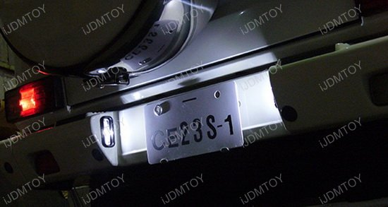 Mercedes G-Class LED License Plate Light