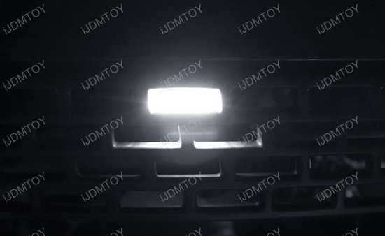 Ford Raptor Font Grille LED Lights