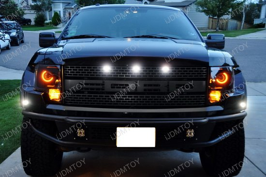 Ford Raptor 2 Piece Front Or Rear Bumper Led Side Marker