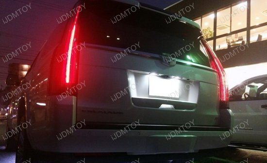Cadillac Chevy LED License Plate Light