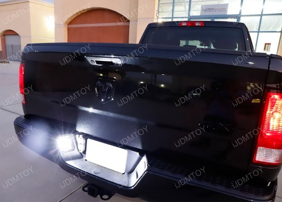 Dodge Ram 1500 2500 3500 Oem Replace Led License Plate Lights