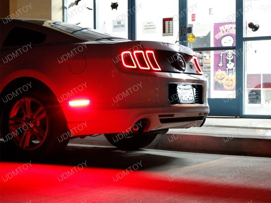 Ford Mustang Flex Focus Exact Fit Led License Plate Light