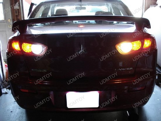 Mitsubishi Lancer LED License Plate Light