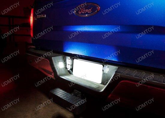 Ford F150 or Raptor Trucks OEM Replace LED License Plate Lights