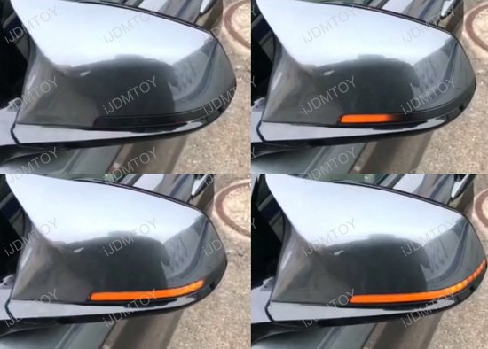 BMW X-Series Sequential Mirror LED