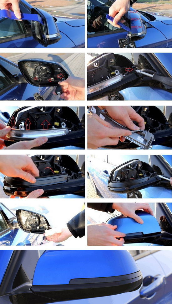 BMW 2 3 4 Series Sequential Mirror LED