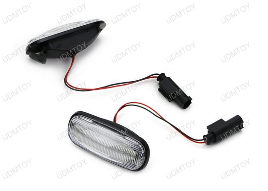 Land Rover Amber LED Side Marker Lamp Assembly