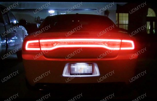 Dodge Charger Challenger LED License Plate Light