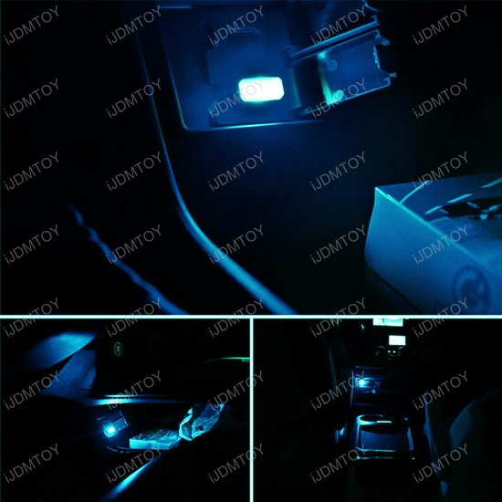 Usb Plug In Miniature Led Car Interior Ambient Lighting Kit